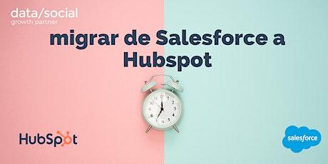 Cómo migrar de Salesforce a Hubspot sin morir en el intento tickets