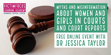 Myths and Misinformation about Women and Girls in Courts and Court Reports tickets