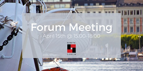 Forum Meeting - April 15th tickets