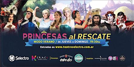 PRINCESAS AL RESCATE - MODO VERANO 21 entradas