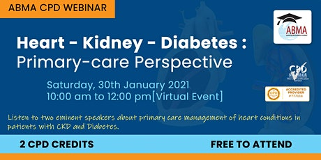 Heart - Kidney - Diabetes : Primary-care Perspective tickets