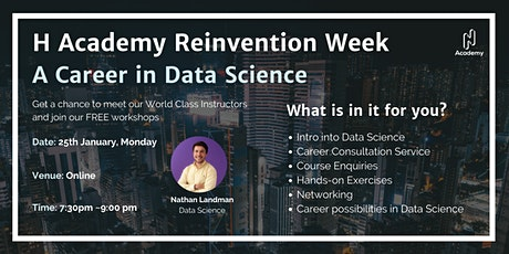 2021 Reinvention Week Day 1: A Career in Data Science tickets