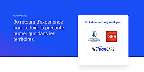 Webconférence : Réduire la précarité numérique dans les territoires billets