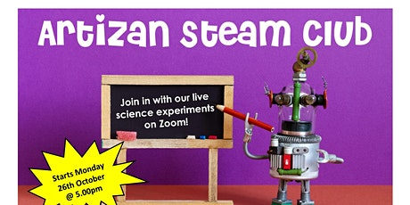 Artizan Library STEAM Club tickets