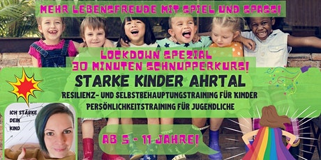 Starke Kinder Ahrtal -Lockdown Schnupperkurs 30 Min Tickets