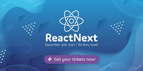 ReactNext 2021 tickets