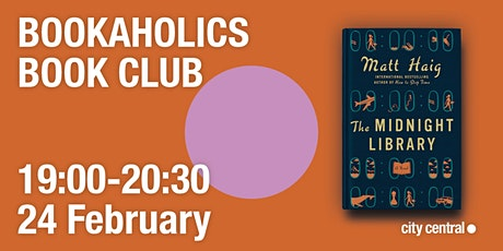 Bookaholics Book Club: The Midnight Library tickets