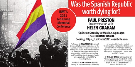 Len Crome Memorial Conference: Was the Spanish Republic worth dying for? tickets