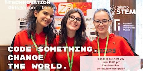 Lanzamiento Technovation Girls 2021 Región de Murcia tickets