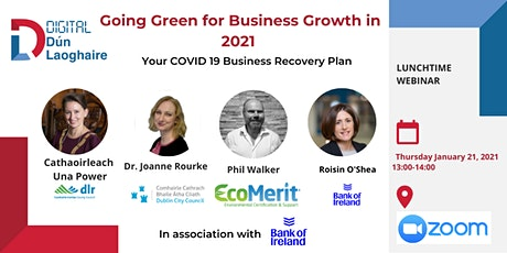 Going Green for Business Growth in 2021 (ft. Cathaoirleach Una Power) tickets