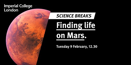 Science Breaks: Finding life on Mars tickets