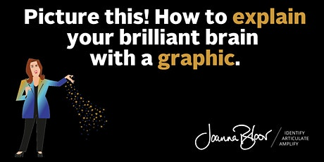 Picture this! How to explain your brilliant brain with a graphic. tickets