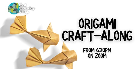 Origami Craft-along: 3D Creations tickets