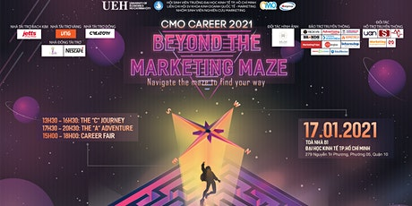 "CMO CAREER 2021 | THE ""C"" JOURNEY tickets"