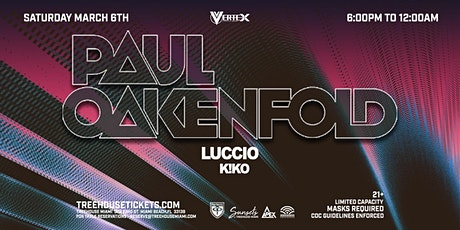 Sunsets @ Treehouse Miami w/ Paul Oakenfold tickets