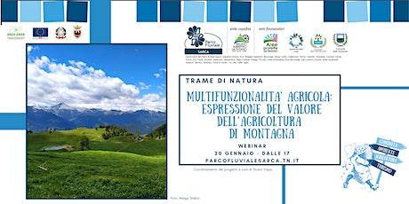 La multifunzionalità agricola - Trame di Natura biglietti
