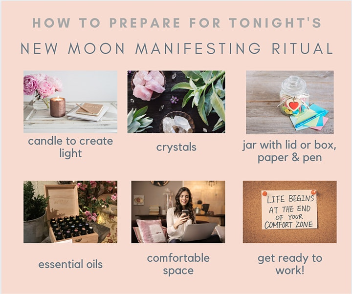 Leo New Moon Ritual  - Manifest Your Desires For Empaths image