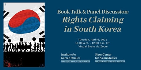 Book Talk & Panel Discussion:  Rights Claiming in South Korea tickets