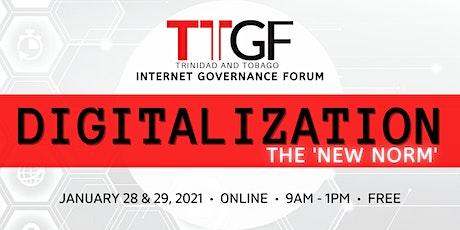 Trinidad and Tobago Internet Governance Forum - TTIGF 2021 tickets