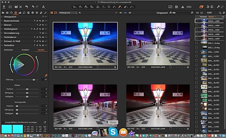 Capture One – Einstieg und Umstieg: Bild