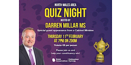 North Wales Conservatives Quiz tickets