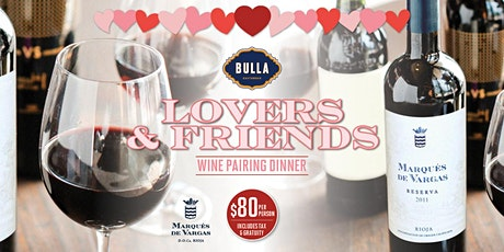 Exclusive Wine Pairing Dinner @ Bulla The Falls tickets
