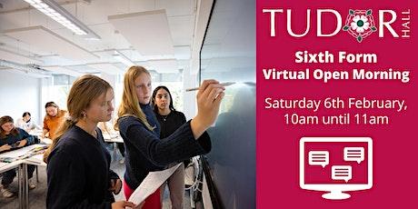 Tudor Hall School - Sixth Form Virtual Open Morning tickets