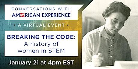 Breaking the Code: A history of women in STEM tickets