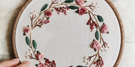 Embroidery for Beginners with CityLit- online - Greenwich residents  only tickets