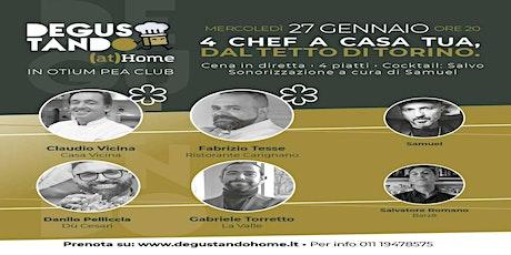 Degustando (at) Home in Otium Pea Club: 4 chef sul tetto di Torino biglietti