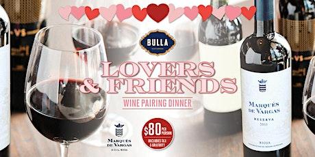 Exclusive Wine Pairing Dinner @ Bulla Tampa tickets