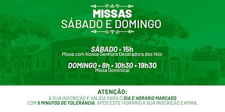 Missa Sábado e Domingo - 16 e 17 de Janeiro  -  P.  N. Sra. da Assunção ingressos