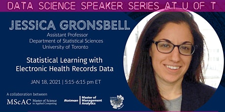 Data Science Speaker Series at U of T: Jessica Gronsbell tickets