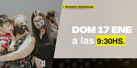 Domingo17/01 9:30hs - Reunión presencial en Caudal de Vida tickets