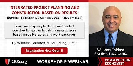 Integrated Project Planning and Construction Based on Results - PEMS tickets