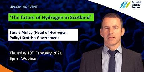 """The future of Hydrogen in Scotland"" tickets"