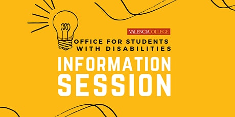 Information Sessions Office for Students with Disabilities tickets