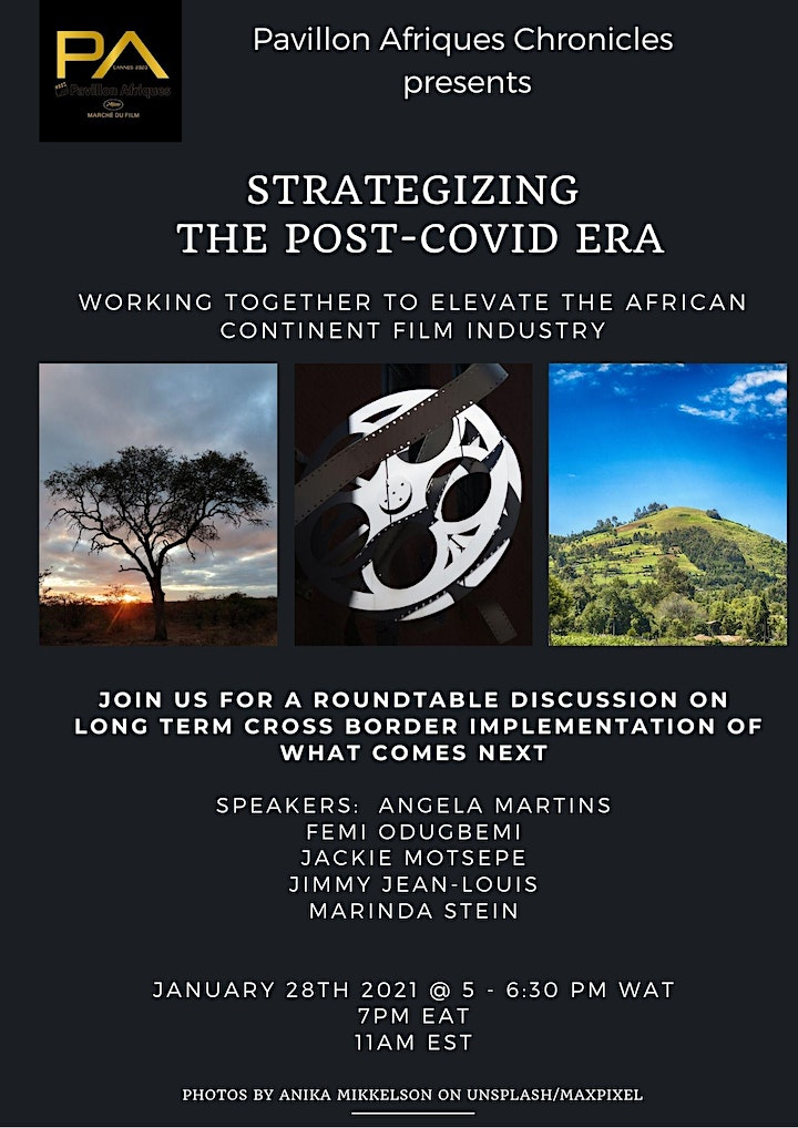 Strategizing the Post-Covid Era for the Film Industry in Africa & Diaspora image