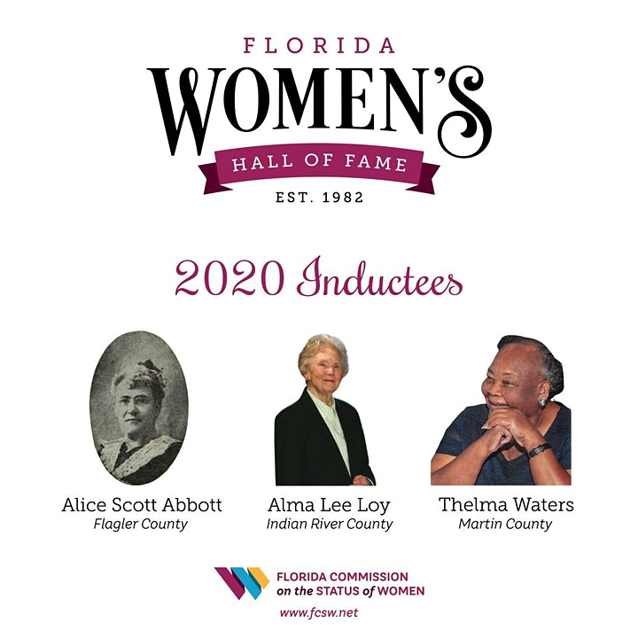 2020 Florida Women's Hall of Fame Virtual Induction Ceremony image