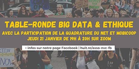 Table-ronde Big data & éthique : quelles perspectives pour les coopératives billets
