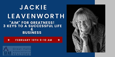 """""""Aim"""" for Greatness! 3 Keys to a Successful Life & Business tickets"""
