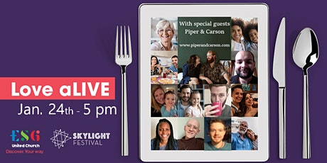Love aLIVE with guests Piper & Carson tickets