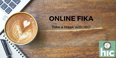 HIC Online Fika tickets