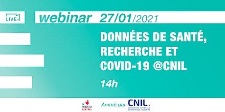 [Webinar] Données de santé, recherche & Covid-19 @Cnil billets