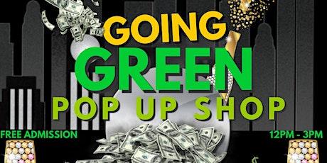 Going Green Pop Up Shop tickets