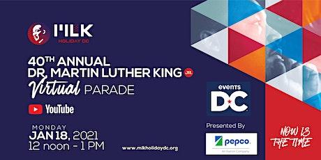 MLK Holiday DC 40th Annual Virtual Parade tickets