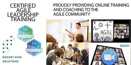 Scott Dunn|Online|Agile Leadership Training  Organizations|CAL-O| March2021 Tickets