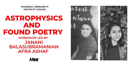 Astrophysics and Found Poetry tickets