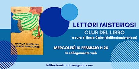 Club del Libro dei Lettori Misteriosi - Premiati Febbraio 2021 biglietti