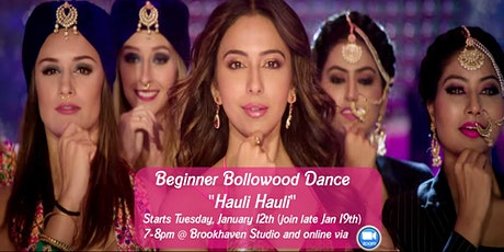 Last chance to join Hauli Hauli - Beginner Bollywood Belly Dance tickets